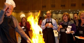 """Can a """"Cooking"""" activity work as a genuine team building process?"""