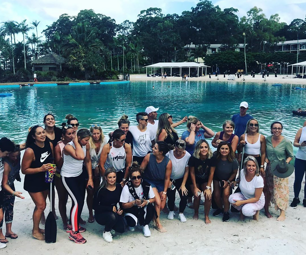 Team building by Sabre at Sanctuary Cove Gold Coast
