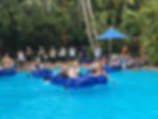 Kon Tiki Boat Building challenge on Daydream island by Sabre