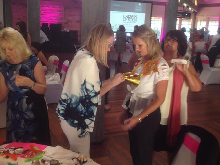 Charity Team Building - Compassion Through Fashion for Breast Cancer Awareness