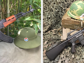Quality replica guns that represent both sides of the Cold War Era