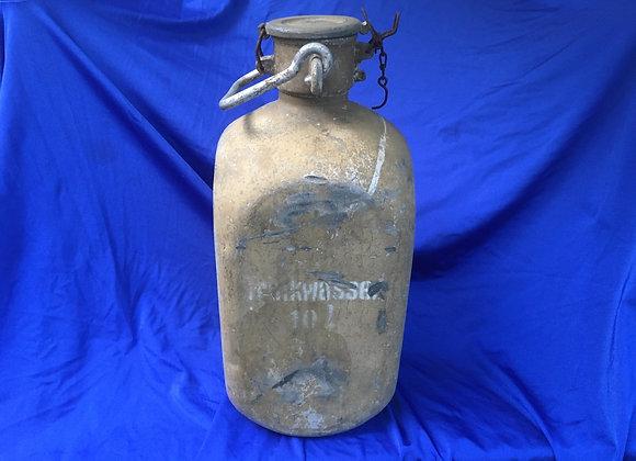 WW2 German Trinkwasser / water container 10 L Wasser Behälter (original)