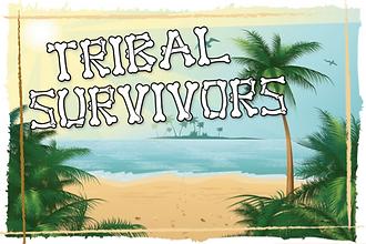 The logo for Sabre's Survivor themed team building