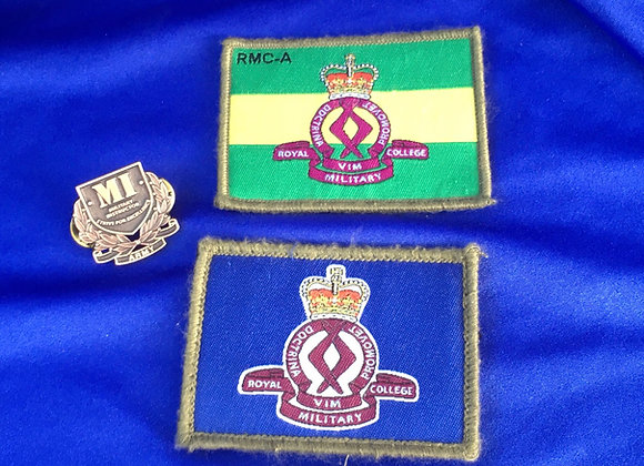 Australian Army Military Instructor Badge and RMC Shoulder Patches
