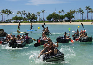 Team Building options for the beautiful beaches of Hawaii by Sabre