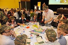 Sabre's indoor table top business game Battlespace