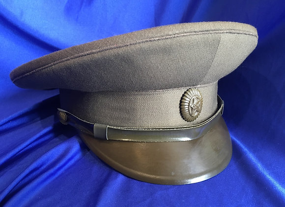 Soviet Army Field visor cap Cold War Era