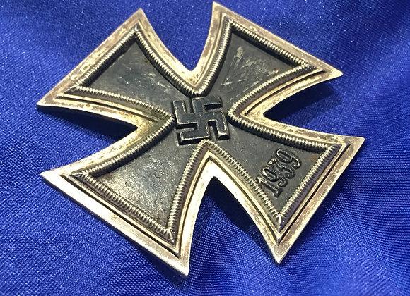 WW2 German Iron Cross First Class / EK1 (Original)