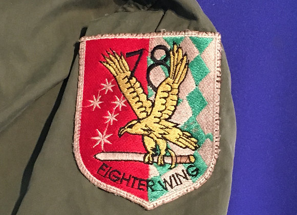 78 Fighter Wing RAAF patched smock