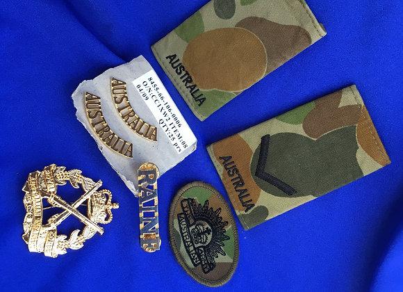 Australian Army badge bundle 3