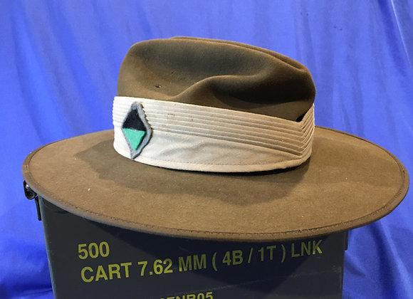 WW2 Australian Reenactment Slouch Hat (Size 55)