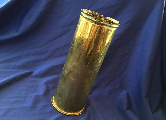 1917 Shell Casing Elaborate Decorations