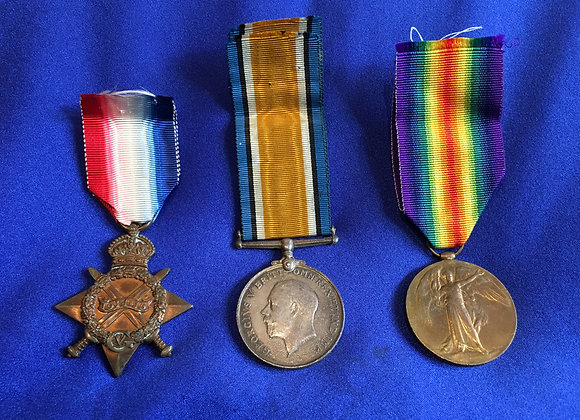 WW1 Medal Group – Private John Murray Dunn, 982, (Gallipoli veteran) 22nd Bn