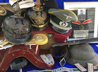 Military antiques of many styles by Sabre Militaria