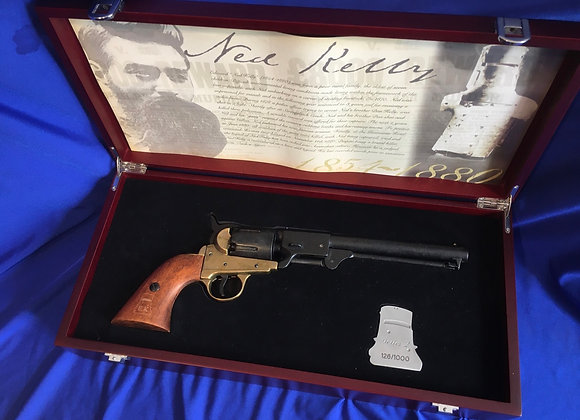Ned Kelly Limited Edition Colt Percussion Cap Pistol in presentation box
