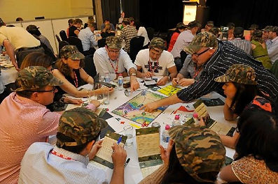 Sabre's table top business games for L&D solutions