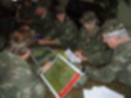 Team building activity with a military for conferences, off-sites and learning and development