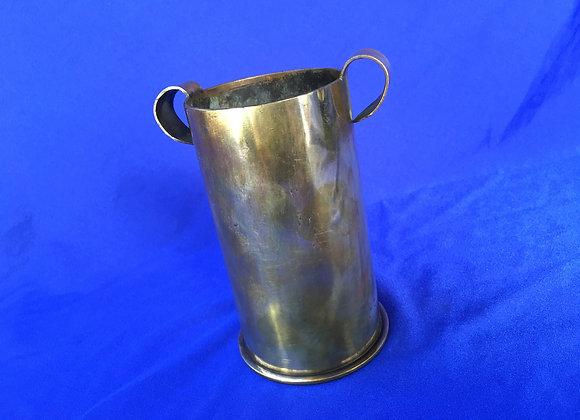 WW2 Italian Shell Casing Vase