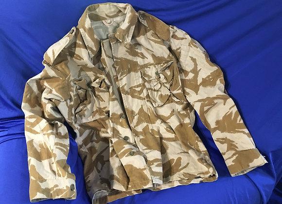 British desert pattern lightweight summer jacket