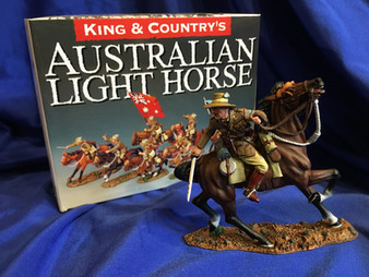King and Country Light Horse Figures
