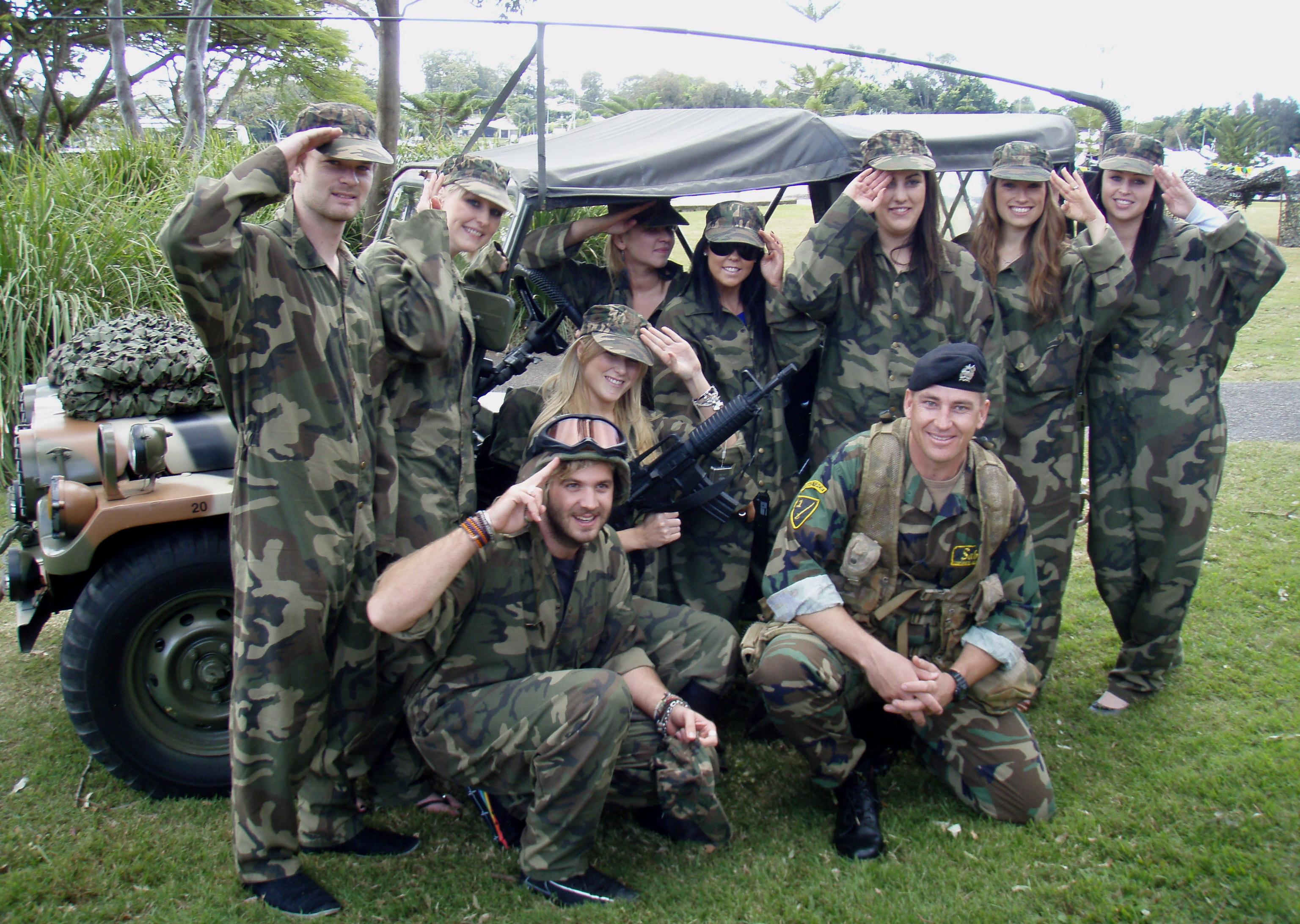 Military Themed Team Building