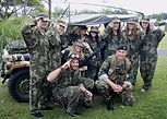 Sabre designs great military themed team building