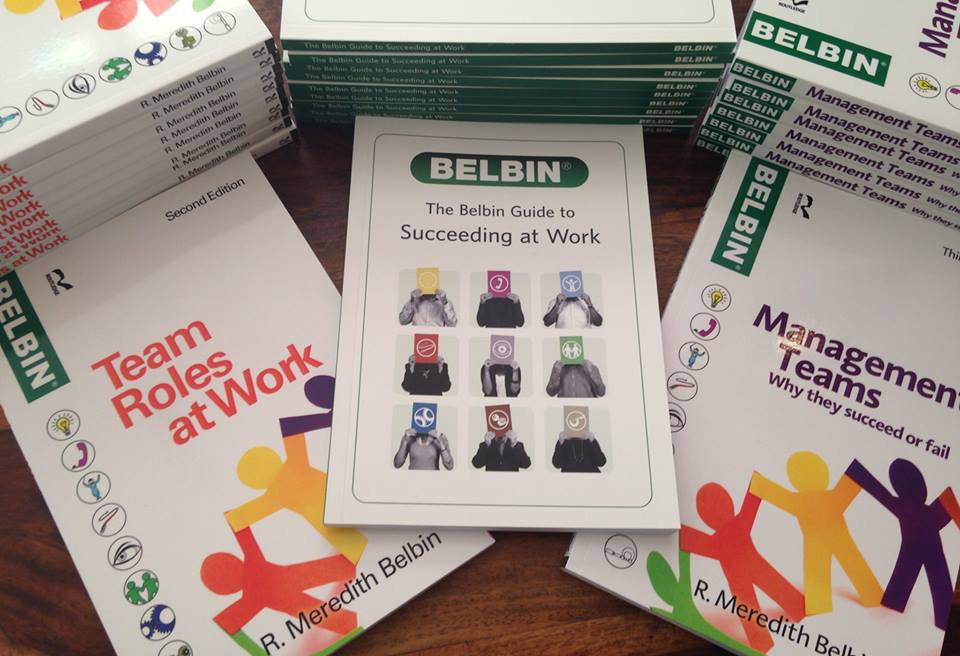 Belbin Australia books for sale by Dr meredith Belbin, the Father of modern Team Role theory.