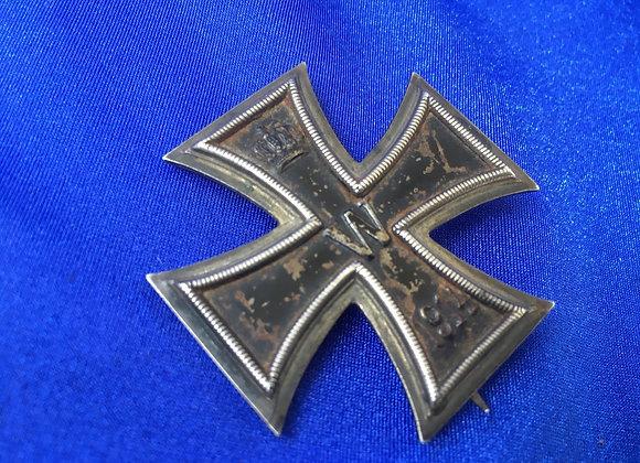 WW1 German EK1 marked 800 (original)