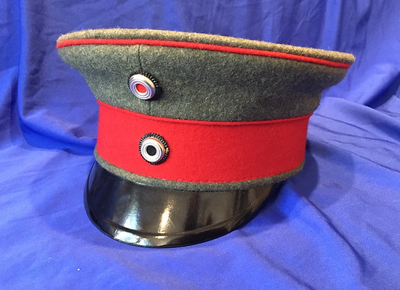 WW1 German Officer Visor Cap (Repro)