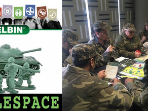 An in-person Belbin and Battlespace programme just beats some new lockdowns
