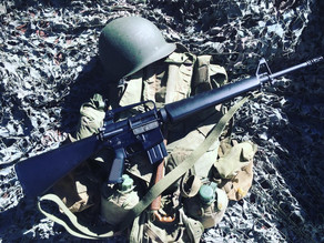 The quality M16A1 Metal Replica that is also a gel blaster rifle