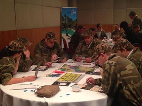 Team Building on the Gold Coast with indoor business games by Sabre