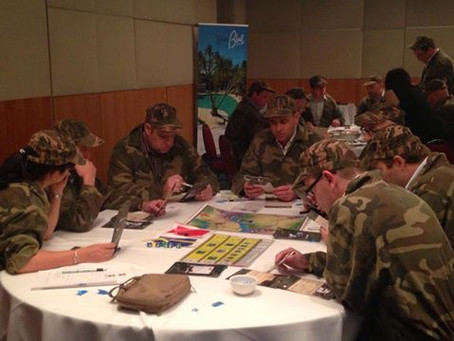 Battlespace business game for Toyota leadership programme