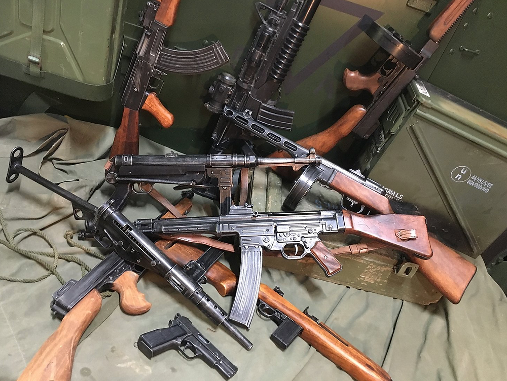 Sabre Militaria stocks and sells a wide range of Denix replica machine guns