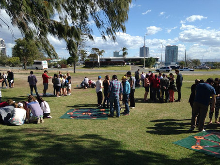 Gold Coast Team Building with Ernst & Young