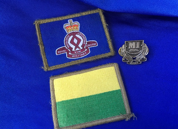 Australian Army Instructor Badge and RMC Shoulder Patches