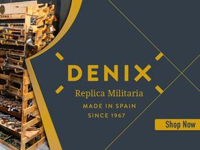 Denix replica gun prices will rise slightly mid 2021
