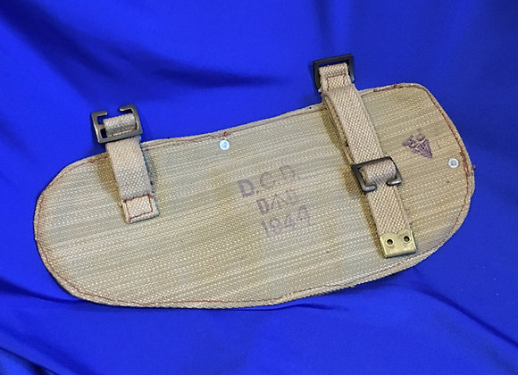 British 1937 pattern web entrenching tool cover in-issued and dated 1944