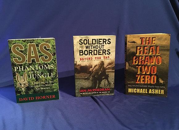3 x SAS Books