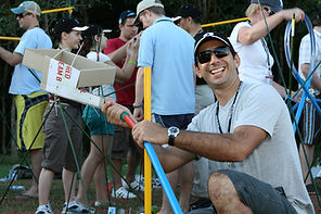 The Rollerball challenge is a high quality team building project by Sabre