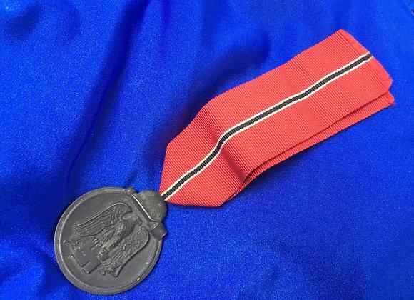WW2 German Eastern Front (Frozen Meat) Medal (Original)