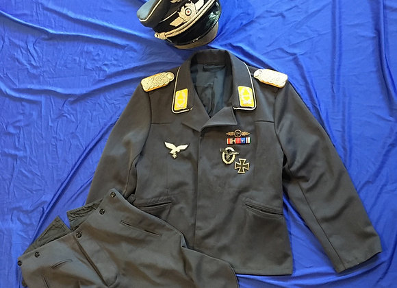 WW2 German Luftwaffe Major Pilot Uniform (Repro)