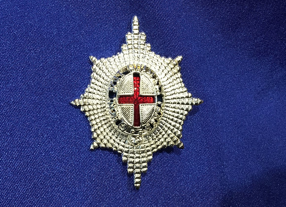 Coldstream Guards Officer Forage Cap Badge