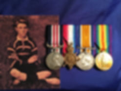 Militaria Sydney WW1 Medal MM Group