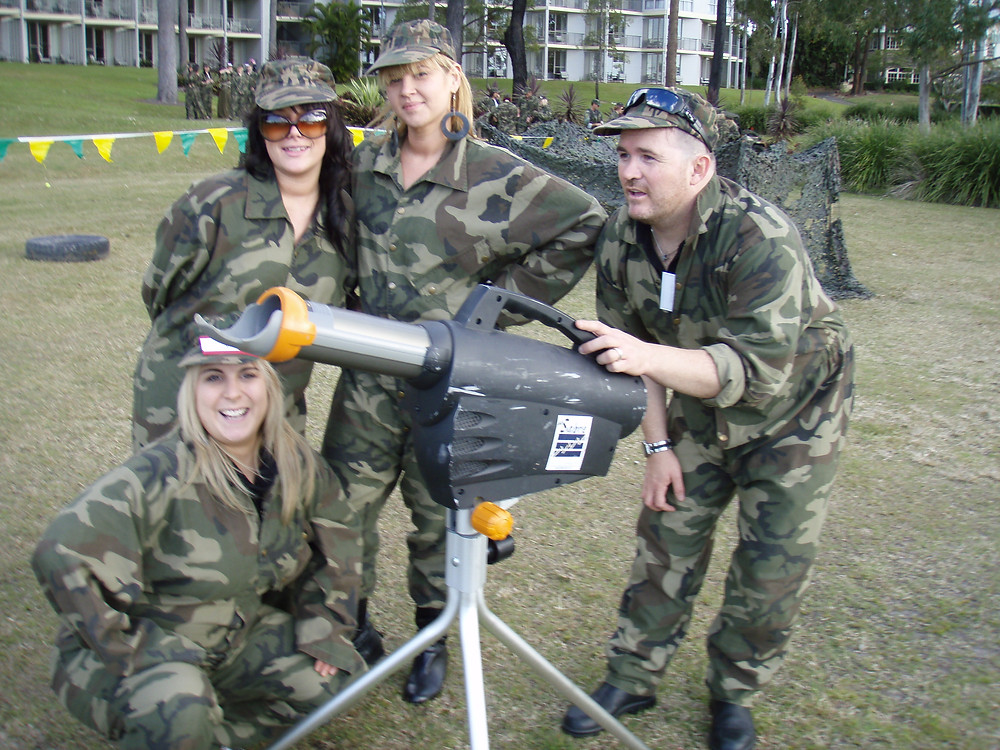 Strike Force is one of our original Gold Coast team building event concepts