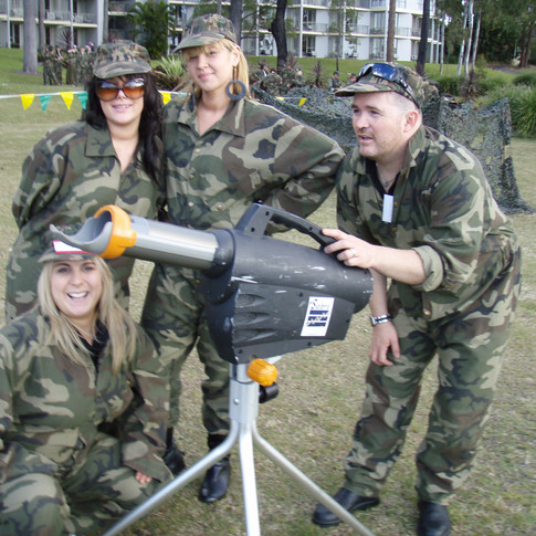 Military themed Brisbane team building