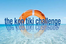 The outdoor team building activity Kon Tiki by Sabre