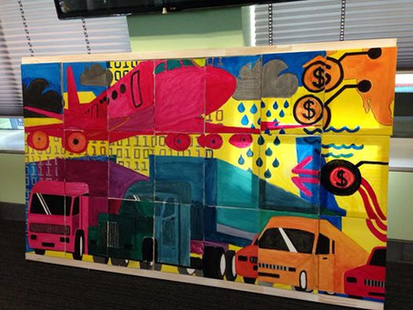 Shell teams create a work of art in our Picture Perfect Challenge