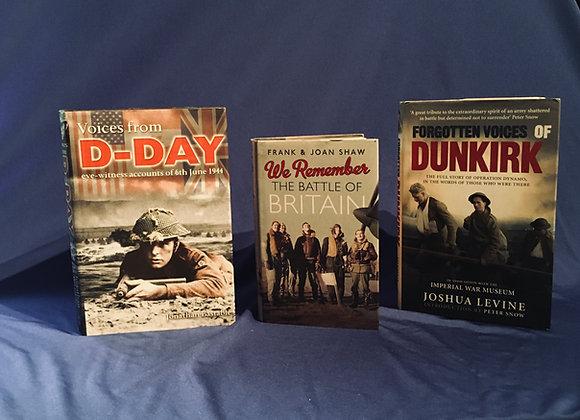 3 x WW2 Books