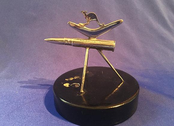 WW2 Aus Trench Art Bren Gun Trophy